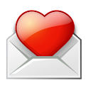 Love Postcards logo