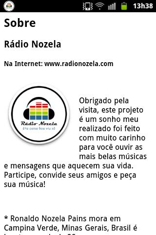 【免費音樂App】Rádio Nozela-APP點子