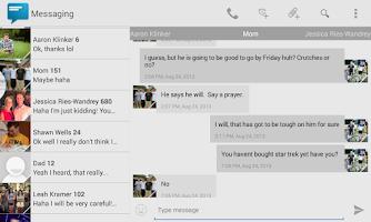Screenshot of Sliding Messaging Pro