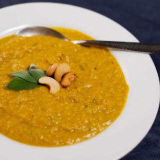 30 Minute Pumpkin Ginger Soup