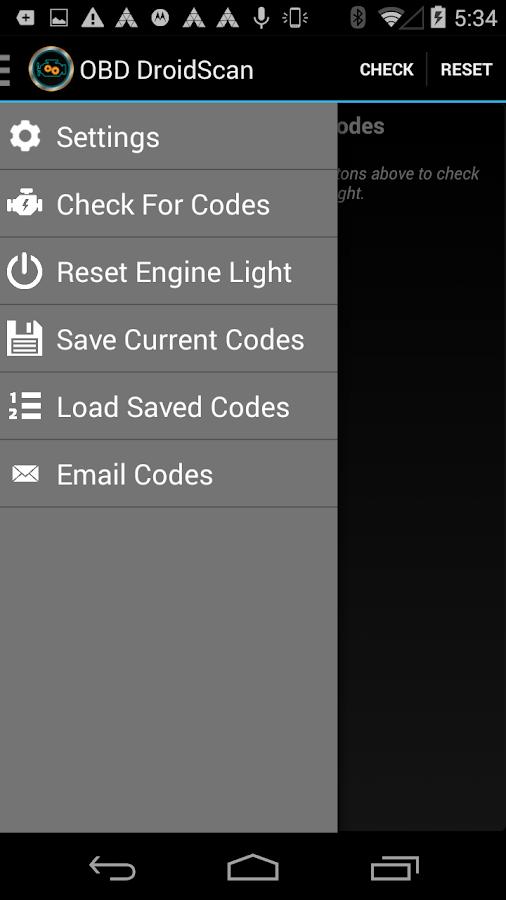 OBD DROIDSCAN PRO - screenshot