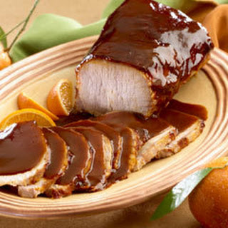 Roast Pork With Tamarind Gravy.
