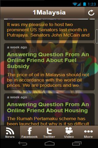 1Malaysia Apps