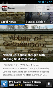 WDRB News - screenshot thumbnail