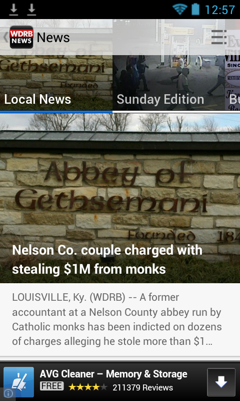 WDRB News- screenshot