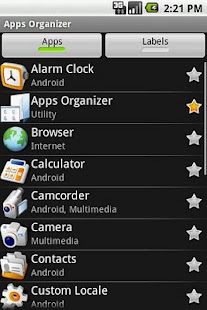 Apps Organizer- screenshot thumbnail
