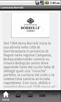Screenshot of Luigi Borrelli Napoli