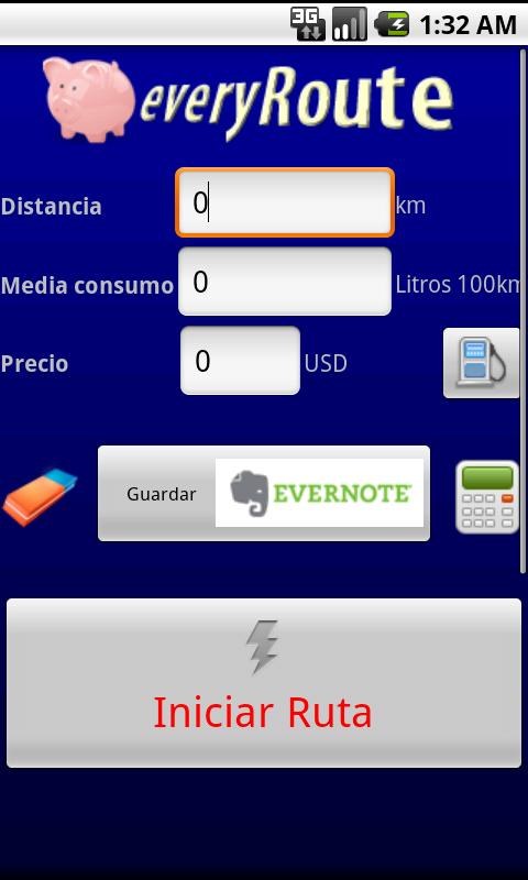 EveryRoute- screenshot
