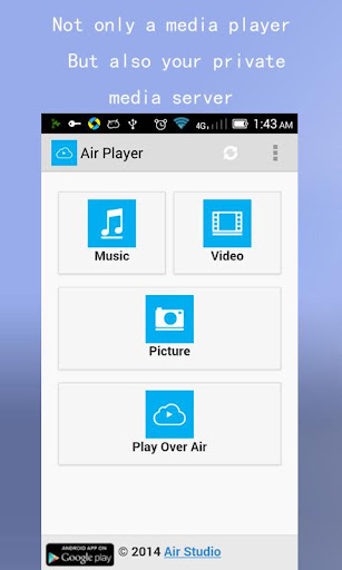 Air Player-Wifi Media Player