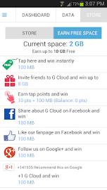 G Cloud Backup Screenshot 5