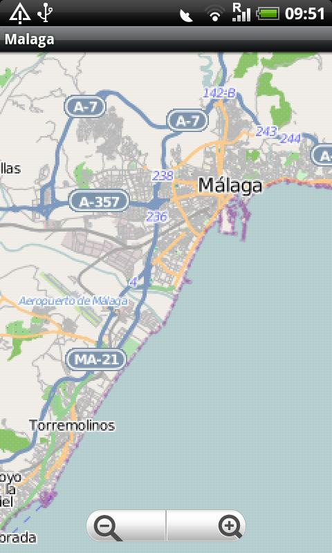 Malaga Street Map Android Apps on Google Play