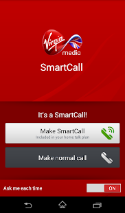 Virgin Media SmartCall - screenshot thumbnail
