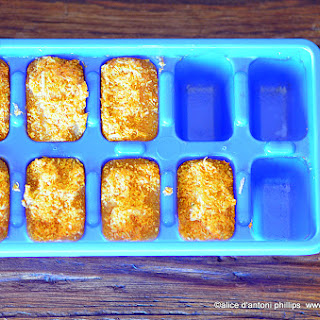 Boho Carrot Ginger Seasoning Cubes.