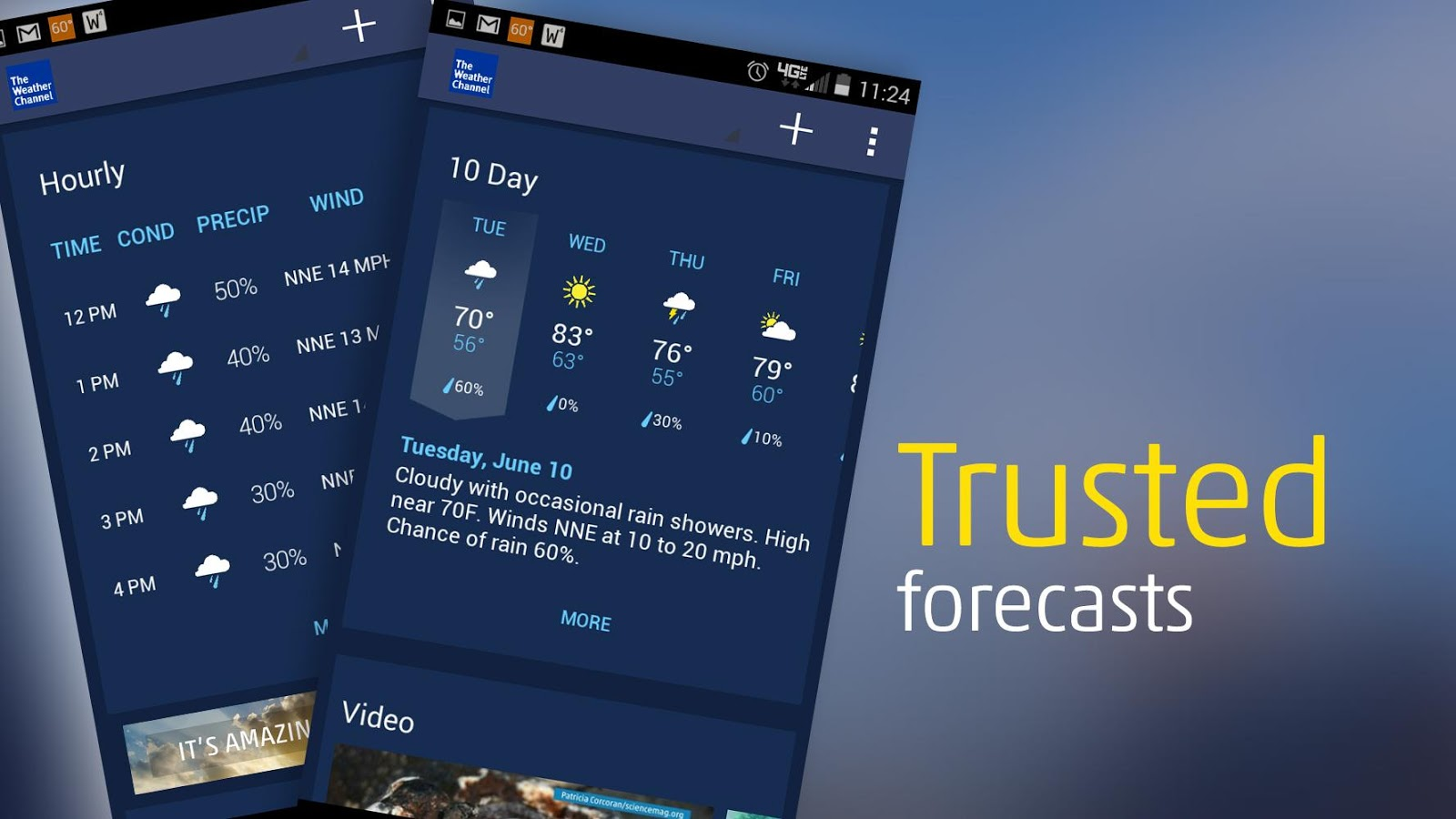 The Weather Channel - screenshot