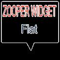 Flat Theme Zooper Widget Skin