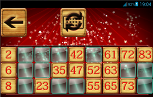 Bingo Christmas - screenshot