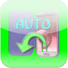 Automatic cover screen lock icon