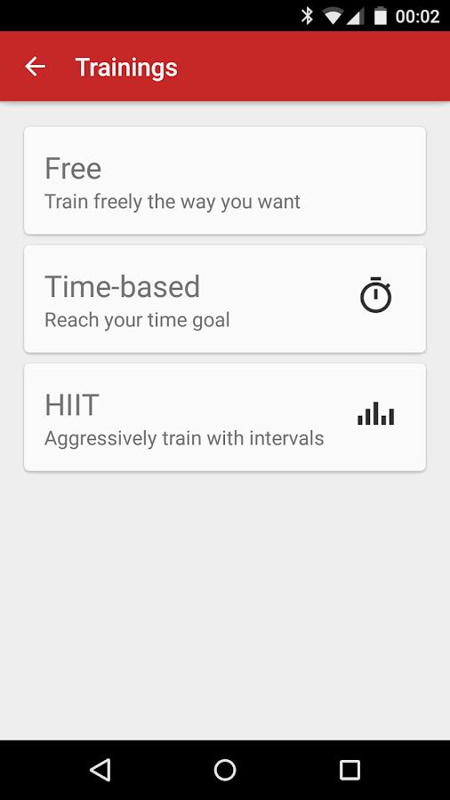 Sickrhino Sports Tracker - screenshot