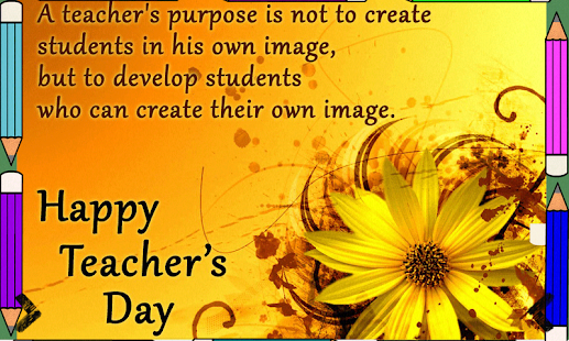 Teachers day greetings android apps on google play teachers day greetings screenshot thumbnail stopboris Gallery