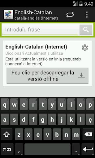 Català-Anglès Diccionari
