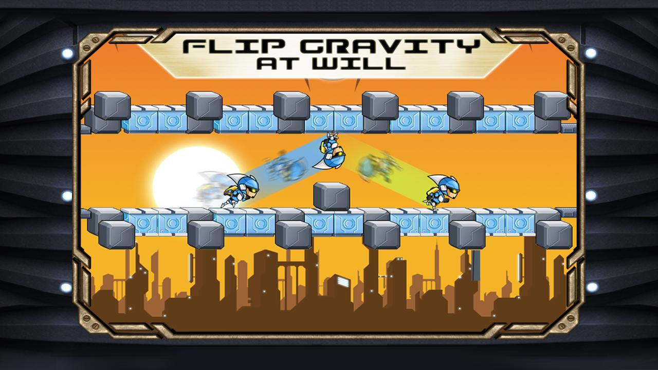 Gravity Guy- screenshot