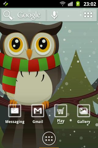 Cute Owl ADWTheme