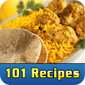 101 Recipes North Indian Foods logo