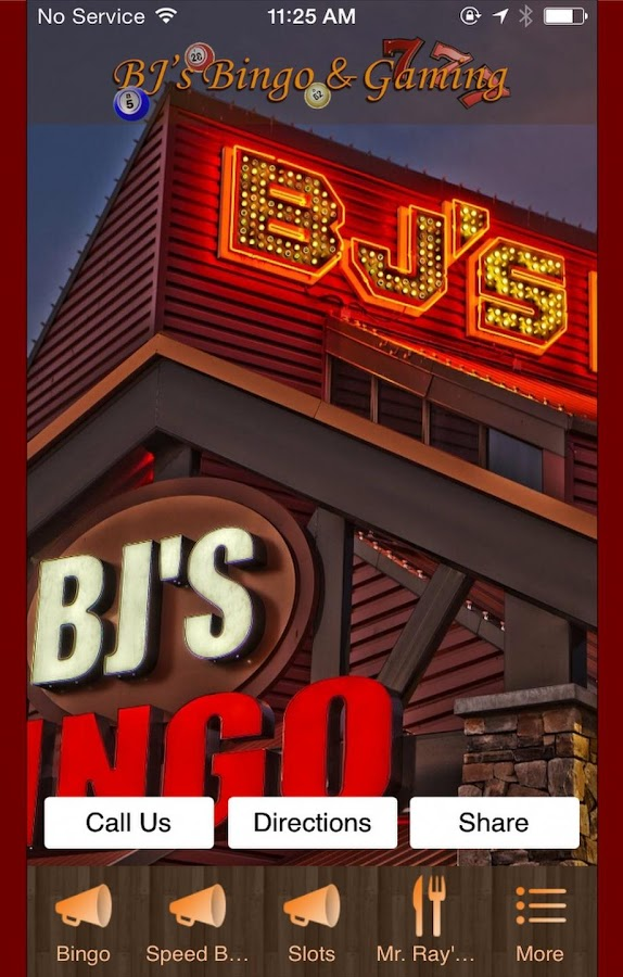 BJ's Bingo & Gaming- screenshot