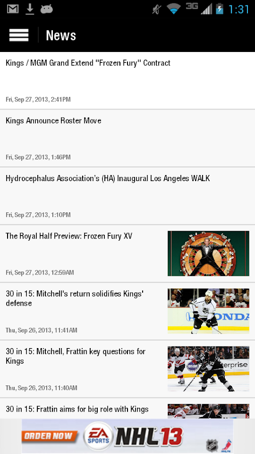 LA Kings - screenshot