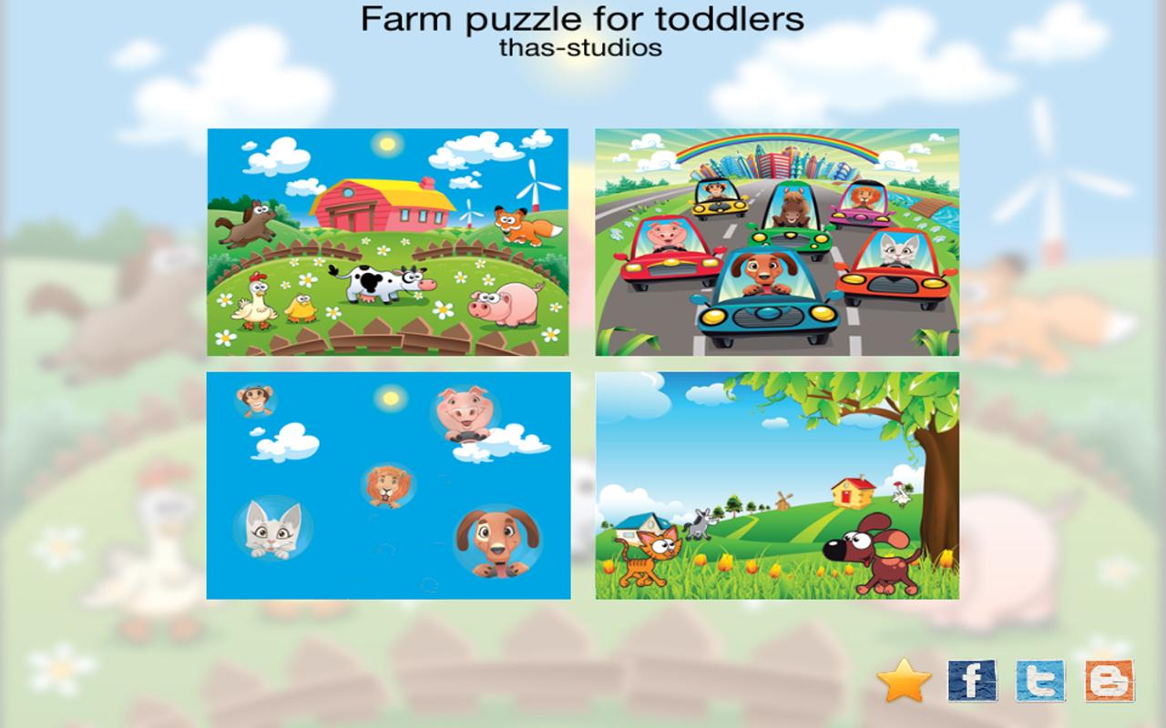 Farm for toddlers HD- screenshot
