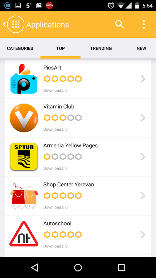 App Armenia- screenshot