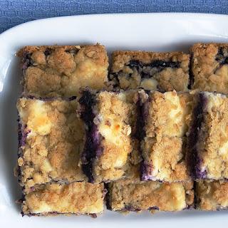 Blueberry Cream Cheese Bars Recipes.