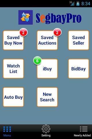 SegbayPro - eBay Alert Snipe