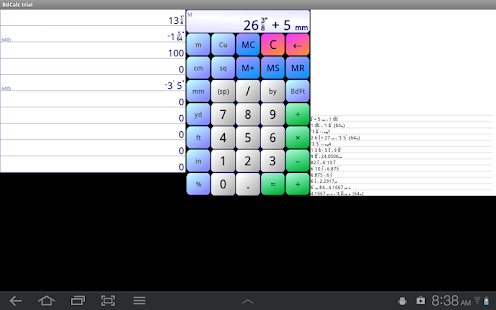 Board Calc Trial version- screenshot thumbnail
