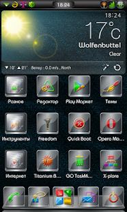 Next Launcher 3D Glass Theme