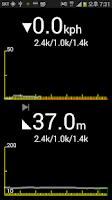 Screenshot of bike trip computer free