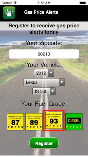 Gas Price Alerts