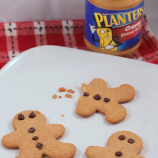 Peanut Butter Gingerbread Cookie