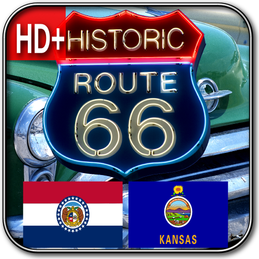 Route 66 MO & KS HD+ Wallpaper LOGO-APP點子
