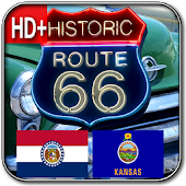 Route 66 MO & KS HD+ Wallpaper