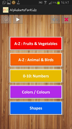 Alphabets Numbers