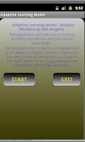 Screenshot of Multiplication - ALM