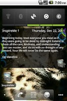 Screenshot of InspireMe † (Plus)