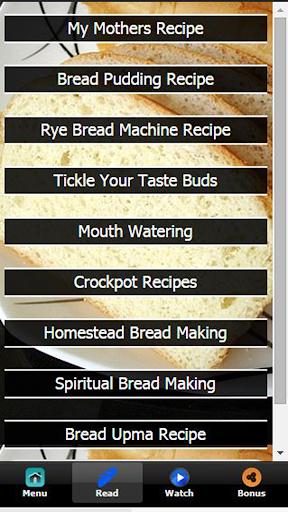 【免費教育App】Bread Making Recipes FREE-APP點子