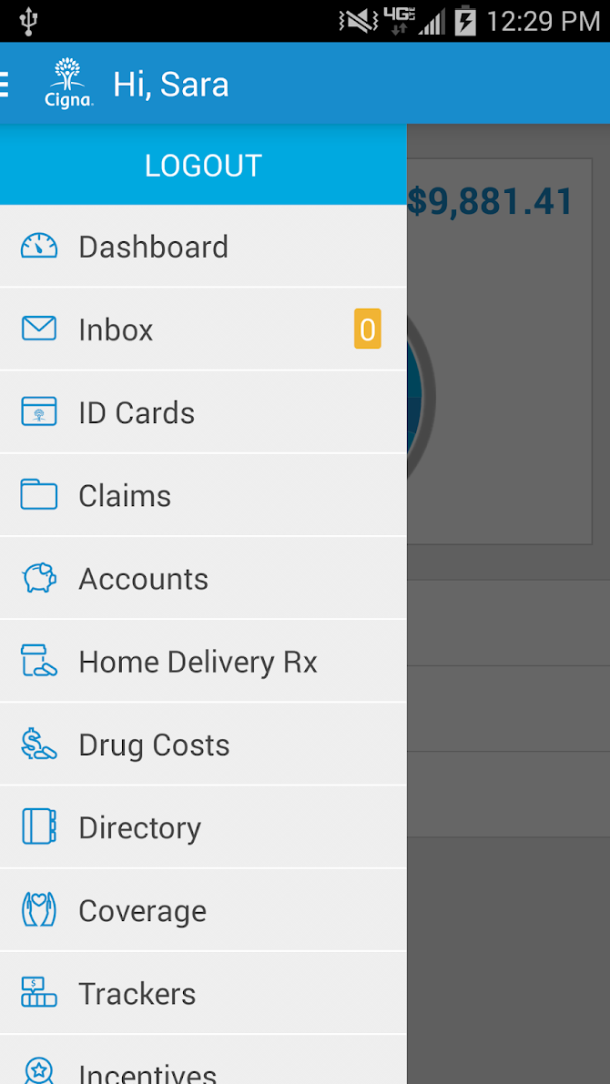 myCigna Android 3