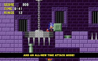 Screenshot of Sonic The Hedgehog