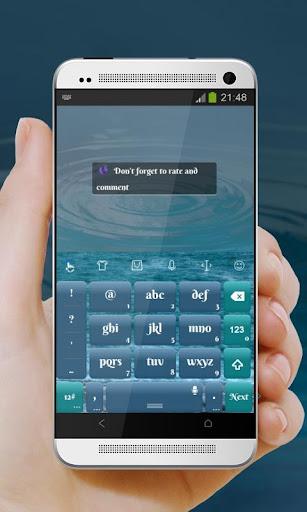 玩個人化App|冷凍水 TouchPal Theme免費|APP試玩