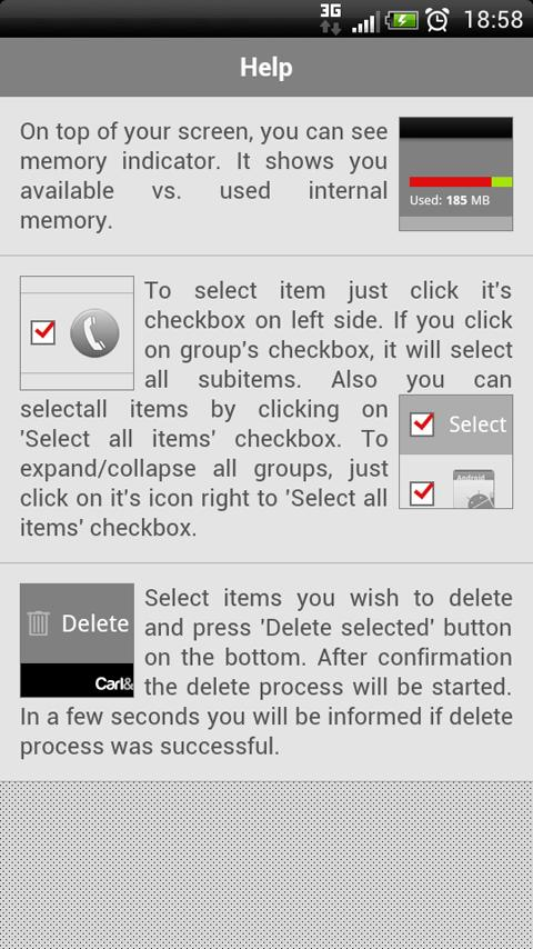 Android Delete History PRO - screenshot