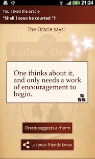 The Ladies' Oracle- screenshot thumbnail