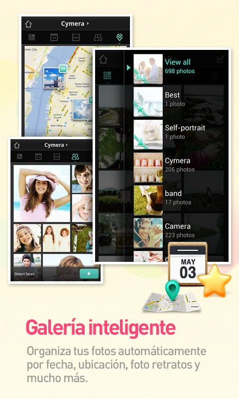 Cymera - Camera & Photo Editor - screenshot